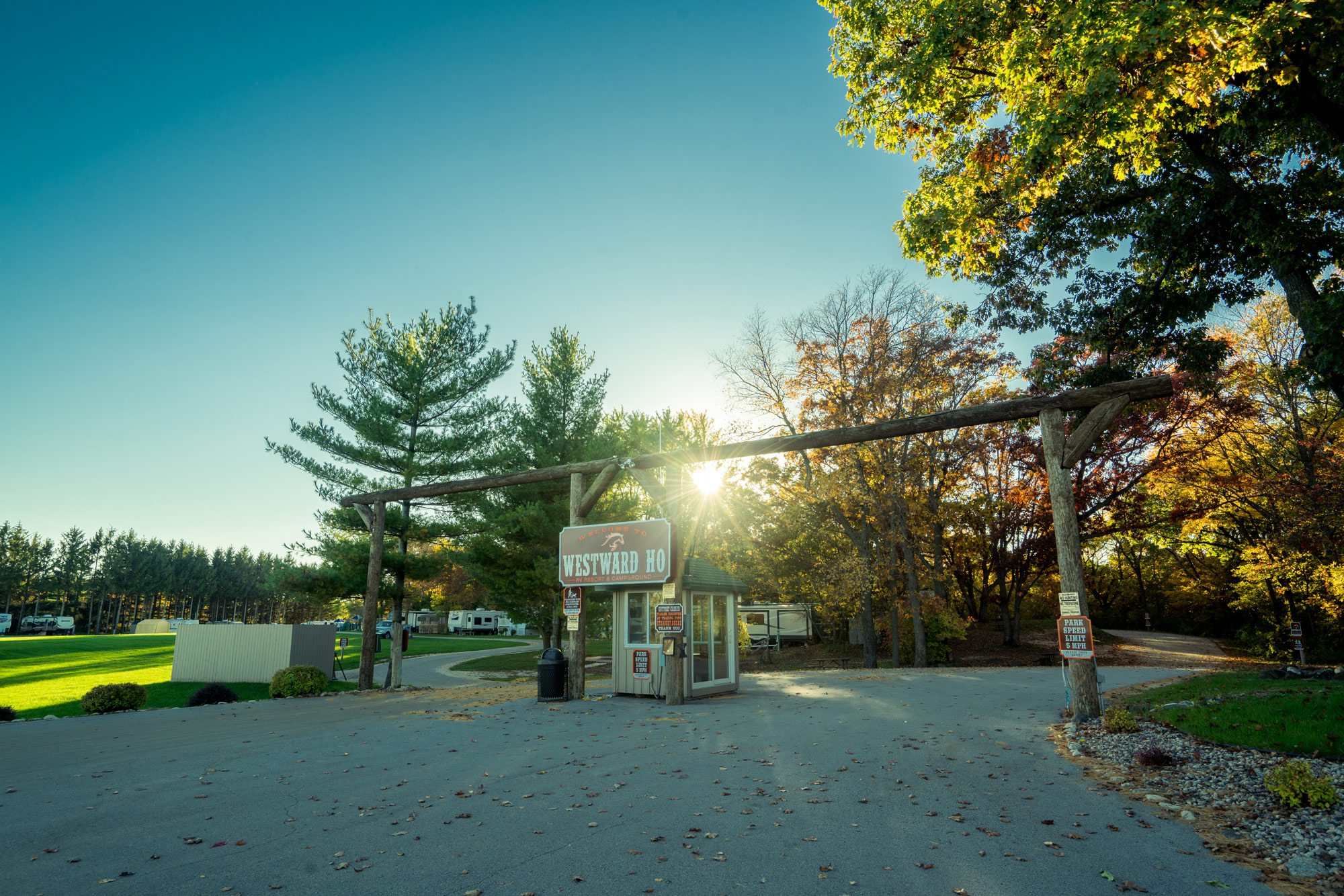 The Red Barn Campground provides quality camping in Shell Lake, WI..