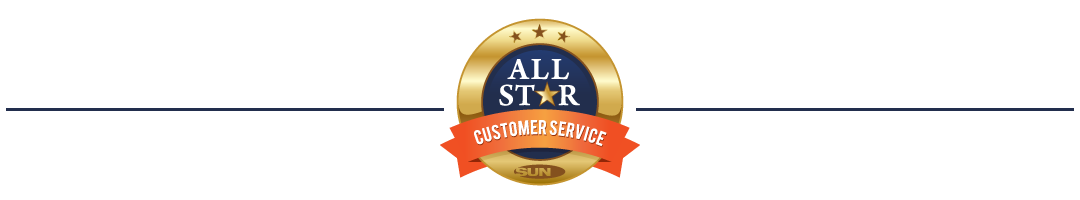 All Star Customer Service Award