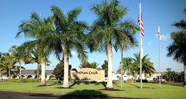 Vacation Home Sales Center at Indian Creek RV Resort