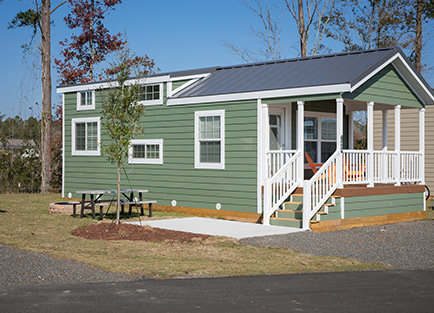 Carolina Pines RV Resort Admiral Exterior in Conway, SC